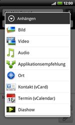 HTC Desire Z - MMS - Erstellen und senden - 11 / 16
