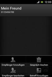 Sony Xperia Miro - MMS - Erstellen und senden - Schritt 11