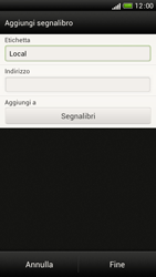 HTC One S - Internet e roaming dati - Uso di Internet - Fase 11