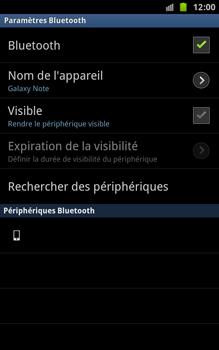 Samsung N7000 Galaxy Note - Bluetooth - connexion Bluetooth - Étape 9