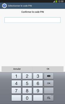 Samsung Galaxy Tab 3 8 4G - Sécuriser votre mobile - Activer le code de verrouillage - Étape 11