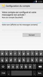 Wiko jimmy - E-mail - configuration manuelle - Étape 16