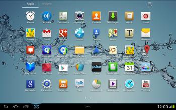 Samsung Galaxy Tab 2 10.1 - Internet et roaming de données - Désactivation du roaming de données - Étape 3