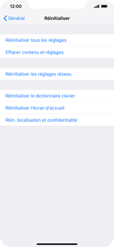 Apple iPhone XS Max - Appareil - Restauration d
