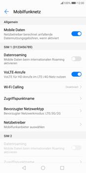 Huawei P Smart - Netzwerk - Netzwerkeinstellungen ändern - 6 / 8