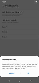 Samsung Galaxy Note 10 Plus 5G - Rete - Selezione manuale della rete - Fase 11