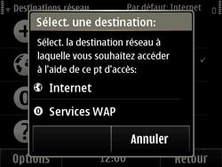 Nokia E6-00 - Wifi - configuration manuelle - Étape 11