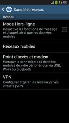 Samsung G386F Galaxy Core LTE - Internet - désactivation du roaming de données - Étape 5