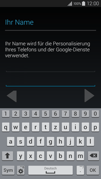 Samsung Galaxy Note 4 - Apps - Einrichten des App Stores - Schritt 6