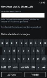 Nokia Lumia 800 / Lumia 900 - Apps - Einrichten des App Stores - Schritt 13