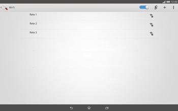 Sony Xperia Tablet Z2 LTE - WiFi - Configurazione WiFi - Fase 6