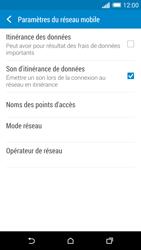 HTC One M8 - Internet et roaming de données - Désactivation du roaming de données - Étape 6