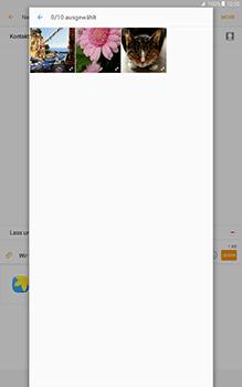 Samsung Galaxy Tab A 10-1 - MMS - Erstellen und senden - Schritt 23