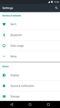 Motorola Nexus 6 - Internet - Manual configuration - Step 6