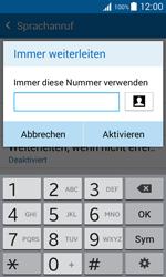 Samsung G388F Galaxy Xcover 3 - Anrufe - Rufumleitungen setzen und löschen - Schritt 11