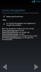 Alcatel One Touch Idol - Apps - Einrichten des App Stores - Schritt 17