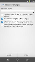 Sony Xperia Z1 Compact - E-Mail - Konto einrichten - 17 / 21