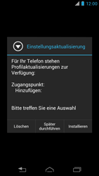 Motorola RAZR i - Internet - Automatische Konfiguration - 0 / 0