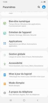 Samsung Galaxy A10 - Applications - Supprimer une application - Étape 4