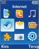 Samsung E2370 Megacell - Internet - Handmatig instellen - Stap 3