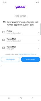 Samsung Galaxy Z flip - E-Mail - 032b. Email wizard - Yahoo - Schritt 11