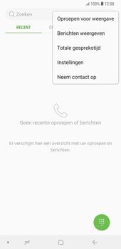Samsung Galaxy Note9 - voicemail - handmatig instellen - stap 6