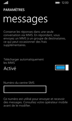 Microsoft Lumia 532 - SMS - Configuration manuelle - Étape 6