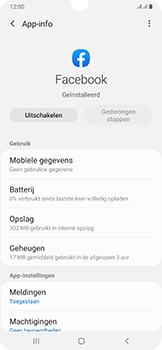 Samsung Galaxy A50 - apps - apps afsluiten - stap 8