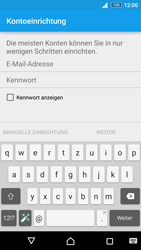 Sony E6553 Xperia Z3+ - E-Mail - Konto einrichten - Schritt 6
