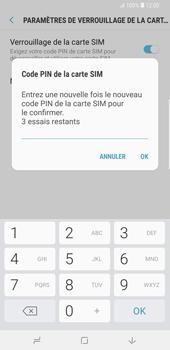 Samsung Galaxy S9 Plus - Sécuriser votre mobile - Personnaliser le code PIN de votre carte SIM - Étape 10