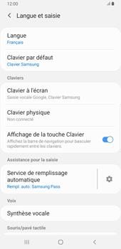 Samsung Galaxy S9 Plus - Android Pie - Prise en main - Comment ajouter une langue de clavier - Étape 6