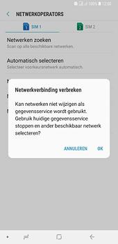 Samsung galaxy-a6-plus-sm-a605fn-ds - Netwerk selecteren - Handmatig een netwerk selecteren - Stap 13