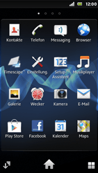 Sony Xperia U - Fehlerbehebung - Handy zurücksetzen - 1 / 1