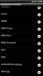 HTC Sensation XE - Internet - Manuelle Konfiguration - 10 / 20