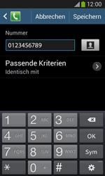 Samsung G3500 Galaxy Core Plus - Anrufe - Anrufe blockieren - Schritt 12