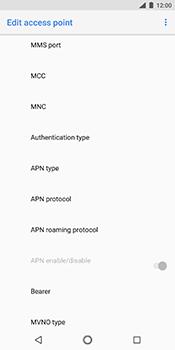 Nokia 7 Plus - MMS - Manual configuration - Step 11