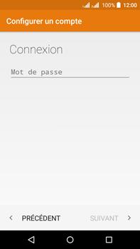 Acer Liquid Z630 - E-mail - Configuration manuelle - Étape 9