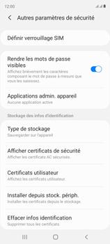 Samsung Galaxy S20 FE - Sécuriser votre mobile - Personnaliser le code PIN de votre carte SIM - Étape 6