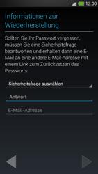 HTC One Mini - Apps - Konto anlegen und einrichten - 12 / 24