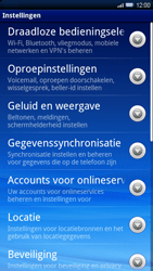 Sony Ericsson Xperia X10 - netwerk en bereik - gebruik in binnen- en buitenland - stap 4