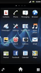 Sony ST25i Xperia U - Internet - Internet browsing - Step 2