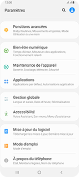 Samsung Galaxy A80 - Logiciels - Installation de mises à jour - Étape 4