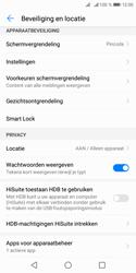 Huawei Y5 (2018) - Beveiliging - stel in of wijzig pincode voor je toestel - Stap 11