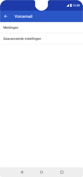 Wiko View 2 - Voicemail - handmatig instellen - Stap 8