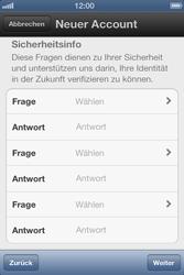 Apple iPhone 3GS - Apps - Einrichten des App Stores - Schritt 9