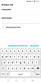 LG Q7 - E-mail - Account instellen (IMAP zonder SMTP-verificatie) - Stap 8