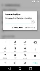 LG X Power - Anrufe - Rufumleitungen setzen und löschen - 8 / 10