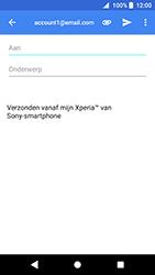 Sony Xperia XZ Premium - Android Oreo - E-mail - e-mail versturen - Stap 5