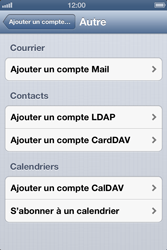Apple iPhone 4S - E-mail - Configuration manuelle - Étape 6