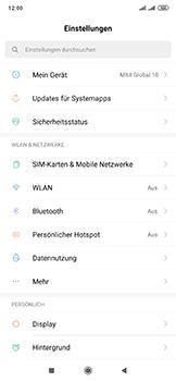 Xiaomi Mi Mix 3 5G - WiFi - So aktivieren Sie einen WLAN-Hotspot - Schritt 3